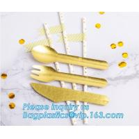 China paper folk, paper knife, paper spoon, paper straw, paper cultery, paper party supplies, paper plate, paper bowl, paper wholesale
