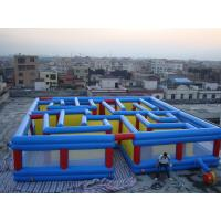 China Square Interactive Maze Games, Inflatable Labyrinth Games For Sale on sale