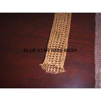 "Buy cheap 2 "" Width Knitted Copper Wire Mesh Double / Multi - Filament Durable And Long from wholesalers"