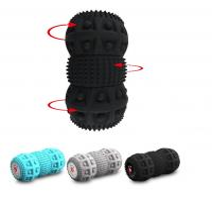 China Relaxed Vibration Foam Roller Foam Roller Shoulder Massage 3 Parts Unique Design wholesale