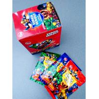 China Super heroes powder candy with poker healthy and funny wholesale