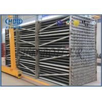 China Air Cooled Fin Tube Heat Exchanger Flue Gas Cooler For Condensing Boiler wholesale