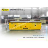 Buy cheap Automatic Control Battery Power Cement Trackless Transfer Carts from wholesalers