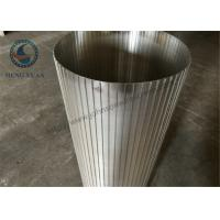 China High Efficiency Rotary Drum Screen , Wire Cylinder Basket SS 304 Grade wholesale