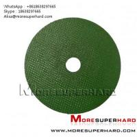 China green cut off wheel , cutting disc Alisa@moresuperhard.com wholesale