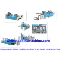 China Automatic Paper Napkin Making Machine 330mm / Facial Tissue Machine on sale