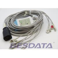 Quality One Piece ECG EKG Cable Snap 15Pin For Zoll E Series / M Series Defibrillator for sale