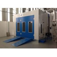 China Water Curtain Paint Spray Booth With Drying Oven Diesel Burner Heating Turbo Fan wholesale