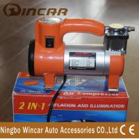 China Single Cylinder Tire Inflator Air compressor / portable air pump for car wholesale