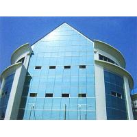 China Architectural Curved Glass Curtain Wall For Office Building , Heat Insulation wholesale