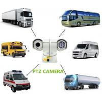 China Intelligence Waterproof Car PTZ Camera 700TVL with 150m Distance , High speed wholesale