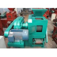 China 7.5kw High Capacity Briquetting Plant Briquette Making Machine With Double Shaft Mixer wholesale