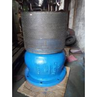 Quality Cast Ductile Iron Flanged Foot Valve with check type structure PN10 PN16 for sale