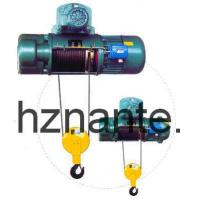 China 5 Tons Electric Wire Rope Underhang Hoist CD / MD Lifting Equipment CE Passed on sale