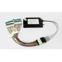 China 40 Channels C21-C60 Dual Fiber Athermal AWG Module With 1U Rack Mount, LC/UPC wholesale