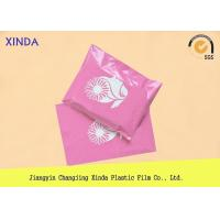 "China Pink printing polythene 14.5"" x 19"" mailing clothing parcel bags DHL UPS express wholesale"