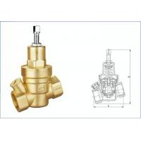 China Brass Water Adjustable Temperature Pressure Relief Valve WRAS Certificate wholesale
