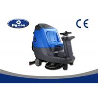 China Blue / Grey Hard Floor Cleaner Machine For Railway Station Energy Saving wholesale
