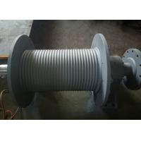 China SS355 Material Grooved Winch Drum , Wire Rope Hoist Drum Design Customized wholesale