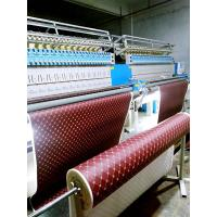 Safe Digital Embroidery Machine , Leather Embroidery Sewing Machine Computerized