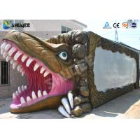 China New - style Dinosaur Mobile 5D Cinema Cabin For Amusement Park wholesale