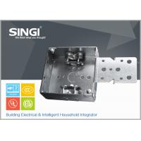 China Canadian UL hollow out rust - proofing metal outlet box / electrical wiring boxes wholesale