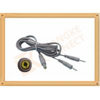 China Safety 2.35 To 2.0 2 Pin Tens Unit Replacement Leads / Tens Unit Accessories wholesale
