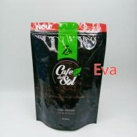 China Silver Plastic Stand Up Pouch Bags 500g Non - Toxic For Coffee Tea Powder Packaging wholesale