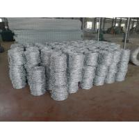 China Electric Galvanized 16*18# Wire Gauge Double Twist Barbed Wire wholesale