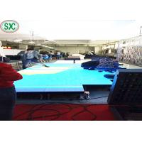 China SMD3528 Indoor P8.928 Led Dance Floors For Weddings , 250 X250mm Led Module wholesale