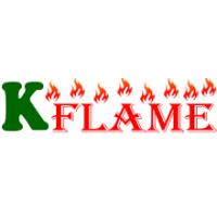 China Knsing electric fireplace logo