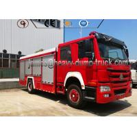 China 4X2 Sinotruk Water And Foam Tanker Firefighter Truck With Diesel Fuel Type wholesale