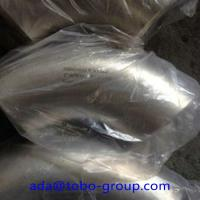 Quality WP304H Stainless Steel Butt Weld Fittings Long Radius 90 Degree Elbow DN15 - for sale