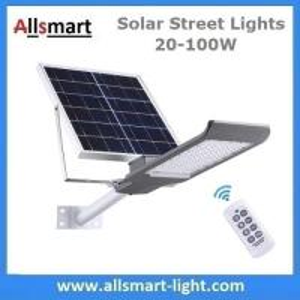 China 20W~100W Separated Solar Street Lights Remote Control Solar Floodlights Solar Garden Driveway Lighting wholesale