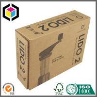 Quality Black Logo Color Print Shipping Box; Custom Color Printing Logo Mailing Box for sale