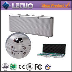 China China supplier aluminum case 1000 poker chip set aluminum tool case wholesale