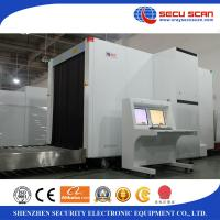 China Cargo Pallet X Ray Baggage Scanner At 150180 , Airport Bag Scanner White Color wholesale