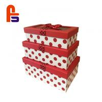 Buy cheap Beautiful Cardboard Gift Box Red Color Customized Perfect For Chrismas from wholesalers
