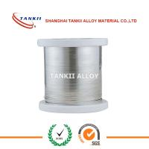 China 0.6x0.2mm 0.5X0.1mm Bright Nichrome Ribbon Ni80cr20 NiCr 80/20 NiCr60 /15 NiCr70/30 Flat Wire wholesale