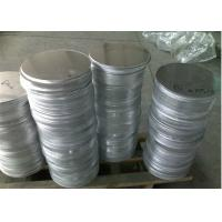 China Rust Proof 3003 Aluminum Round Circle , Cosmetic Case Aluminum Round Plate wholesale