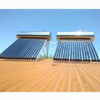 China Integrative pressurized solar water heater, 1.5mm frame thickness on sale