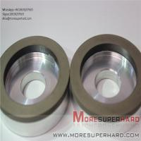 China 6A2 The resin bond diamond is easy to dress the superhard diamond grinding wheel  Alisa@moresuperhard.com wholesale