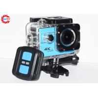 China Blue Ef68r Remote Control Action Camera 4k 60fps Wide Angle WIFI Mini DV HD on sale