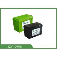 China 12V 100Ah Bluetooth Lithium Battery for Golf Cart , Support 4pcs In Series For 48V100Ah wholesale