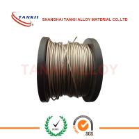 China Multi-Strand Nicr Alloy Nickel Chrome Wire For Pink Ceramic Pad Heater Assembilies wholesale