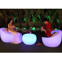 China IP54 Waterproof Outdoor Chairs And Stools Led Chairs And Tables wholesale