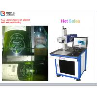 China High Speed CO2 Laser Marking Machine Semiconductor Laser Marker Wooden Printing wholesale