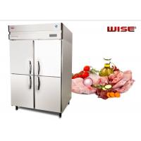 China European Standard Commercial Refrigerator Freezer Built In Fan Cooling System wholesale