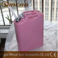 Durable 5L 10L 20L Fuel Petrol Metal Jerry Can For Storage With Flexible Spout