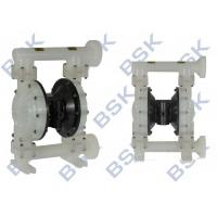 China PTFE Vacuum Diaphragm Pump , Printing Ink Pumps Casting Steel wholesale
